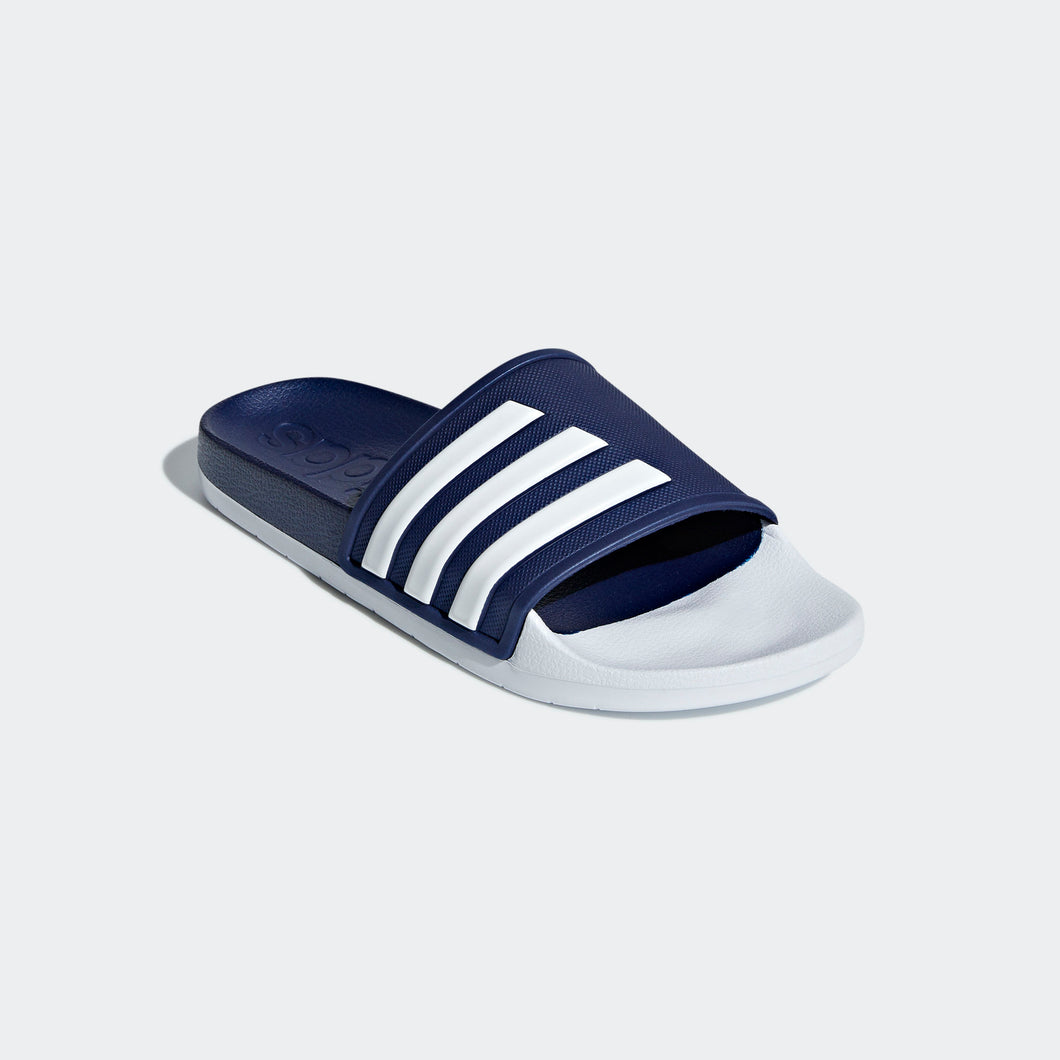 Adilette TND Slides (Dark Blue & White)