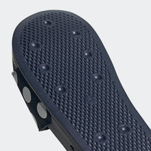 Adidas Adilette Lite Polka Dot Trefoil Slides (Collegiate Navy/Grey Two/Cloud White)(FU9148)