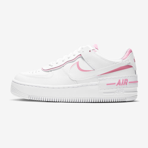 Women's Nike Air Force 1 Shadow (White/Magic Flamingo)(CI0919-102)