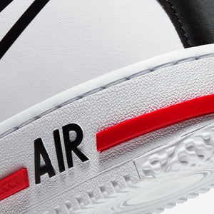 Women's Nike Air Force 1 React (White/University Red/Black)(CD6960-100)