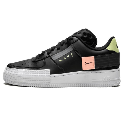Nike Air Force 1 Type (Black Anthracite Zinnia)