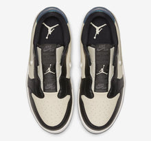 Women's Air Jordan 1 Retro Low Slip On (Fossil Black Ivory Anthracite)