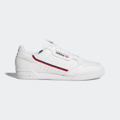 Adidas Originals Continental 80 (White / Scarlet)