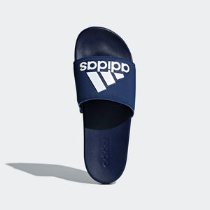 Adilette Cloudfoam Plus Logo (Navy)