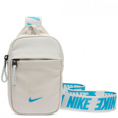 Nike Essentials Small Hip Pack (Light Bone/Laser Blue)(BA5904-072)