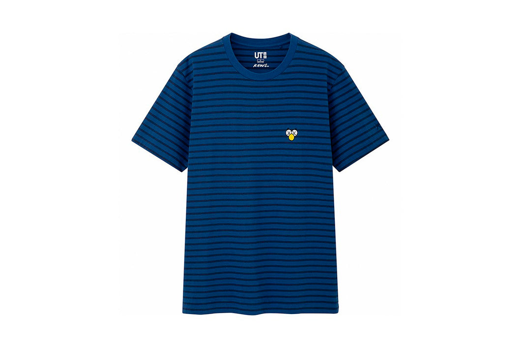 KAWS x Uniqlo BFF Striped Tee (Blue)