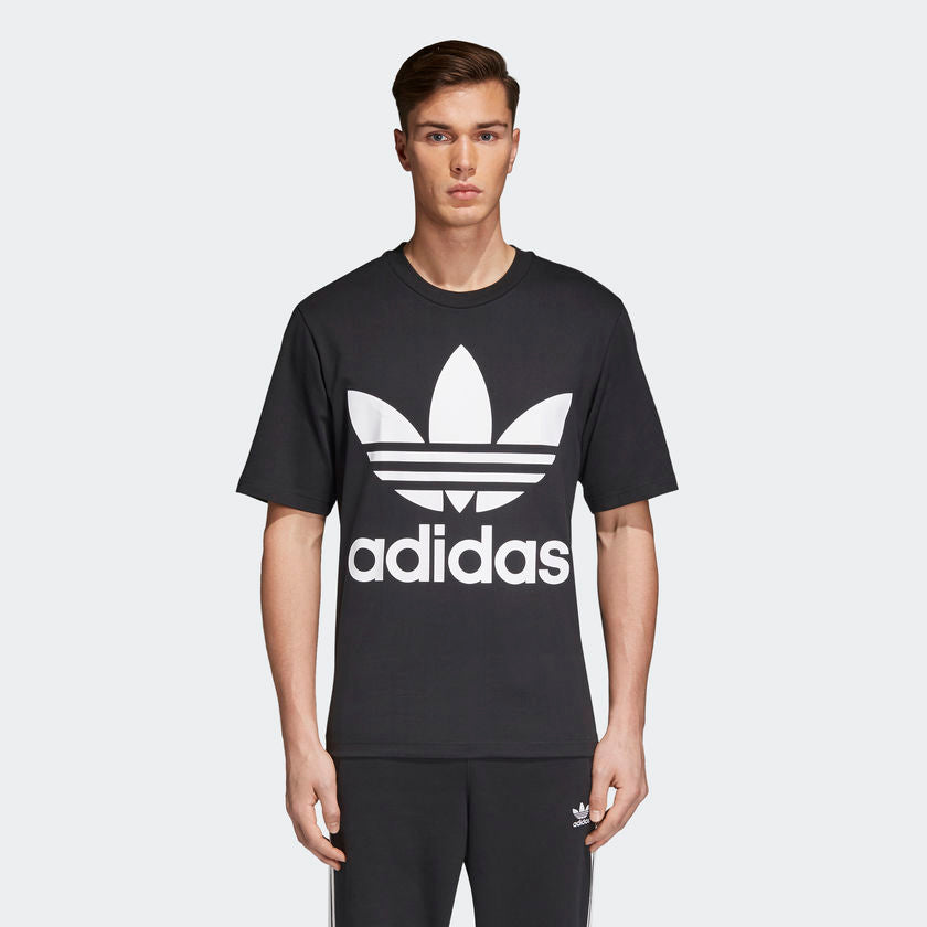 Adidas Originals Trefoil Oversized Tee (Black)