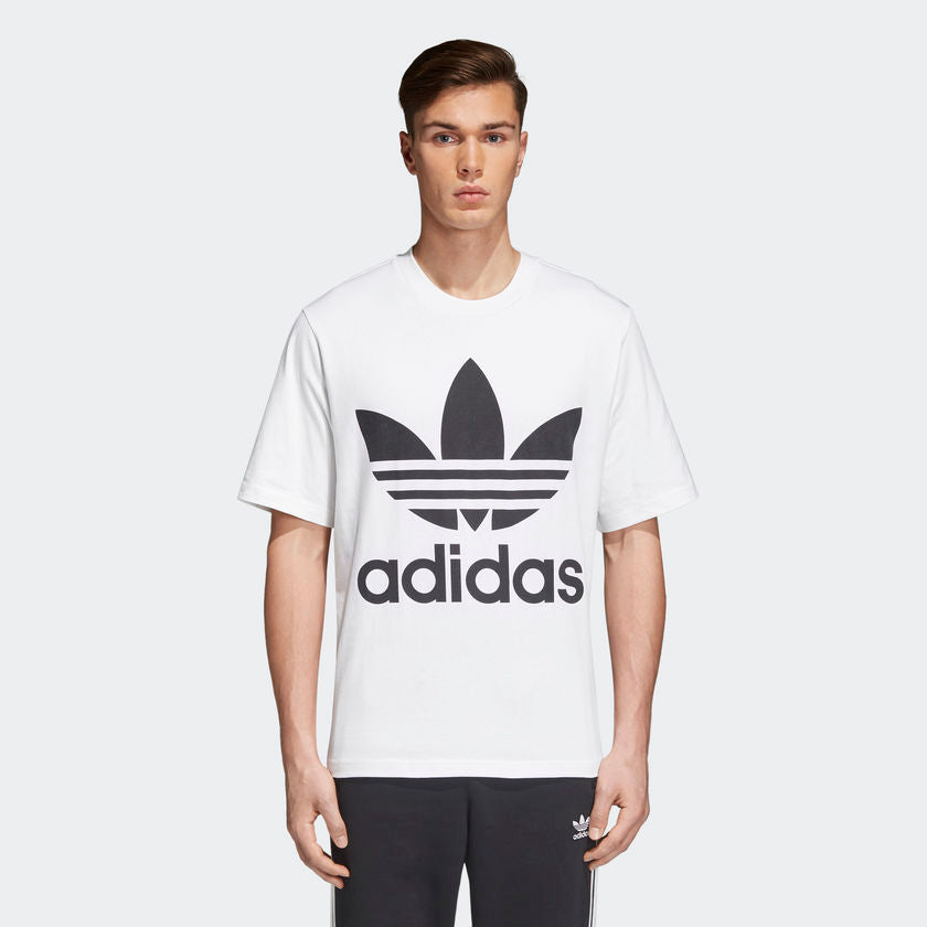 Adidas Originals Trefoil Oversized Tee (White)