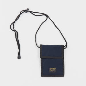 Carhartt WIP Military Neck Pouch (Navy)