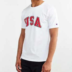 Champion 'USA' Heritage Tee (White)