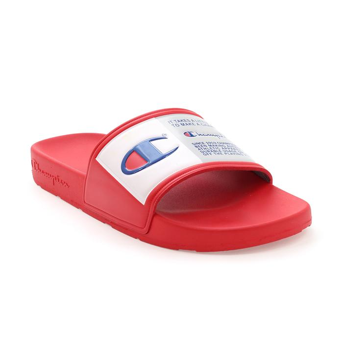 Champion IPO Jock Slides (Red)(Onhand)