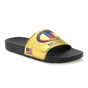 Champion Metallic IPO Slides (GOLD)(Onhand)