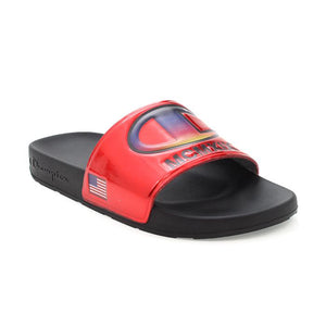 Champion Metallic IPO Slides (Red)(Onhand)