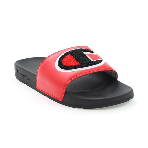 Champion IPO Chenille Slides (Red)