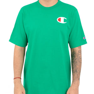 Champion Small C logo Print Heritage Tee (Kelly Green)(onhand)