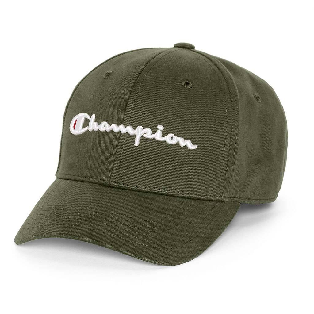 382e2e5a207f7 Champion Classic Twill Strapback Dad Hat (Hiker Green)(onhand ...