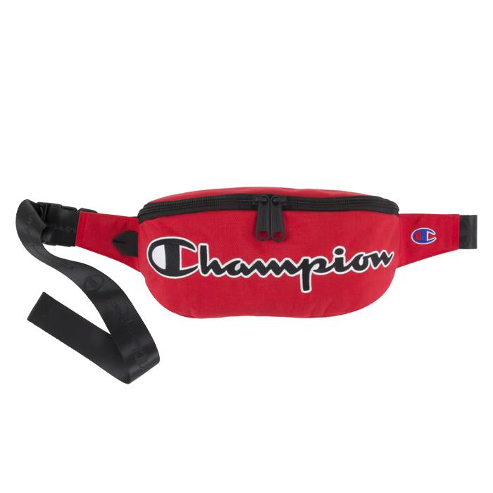 Champion Prime Fanny Pack Crossbody Bag (Red)