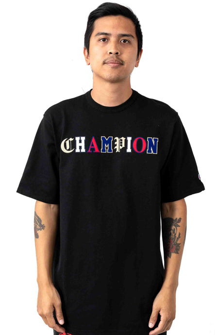 Champion Old English Lettering Heritage Tee (Black)