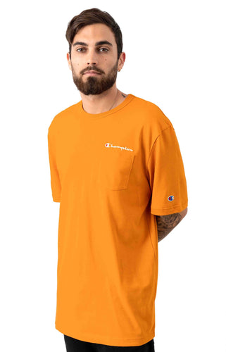 Champion Heritage Pocket Tee (Status Gold)