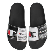 Champion IPO Split Jock Slides (Black)
