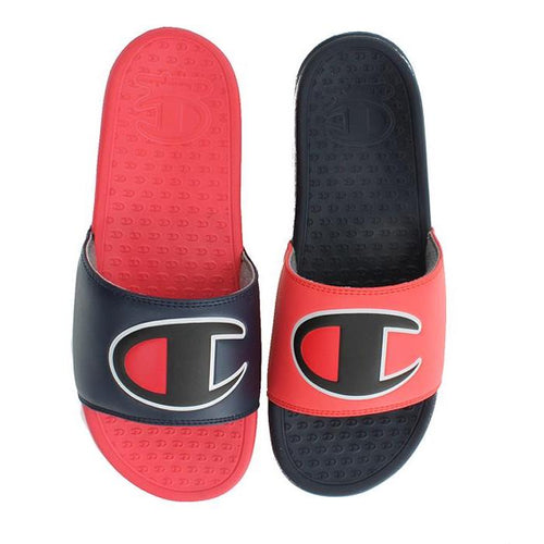 Champion Super Slides Mismatch (Red/Black)