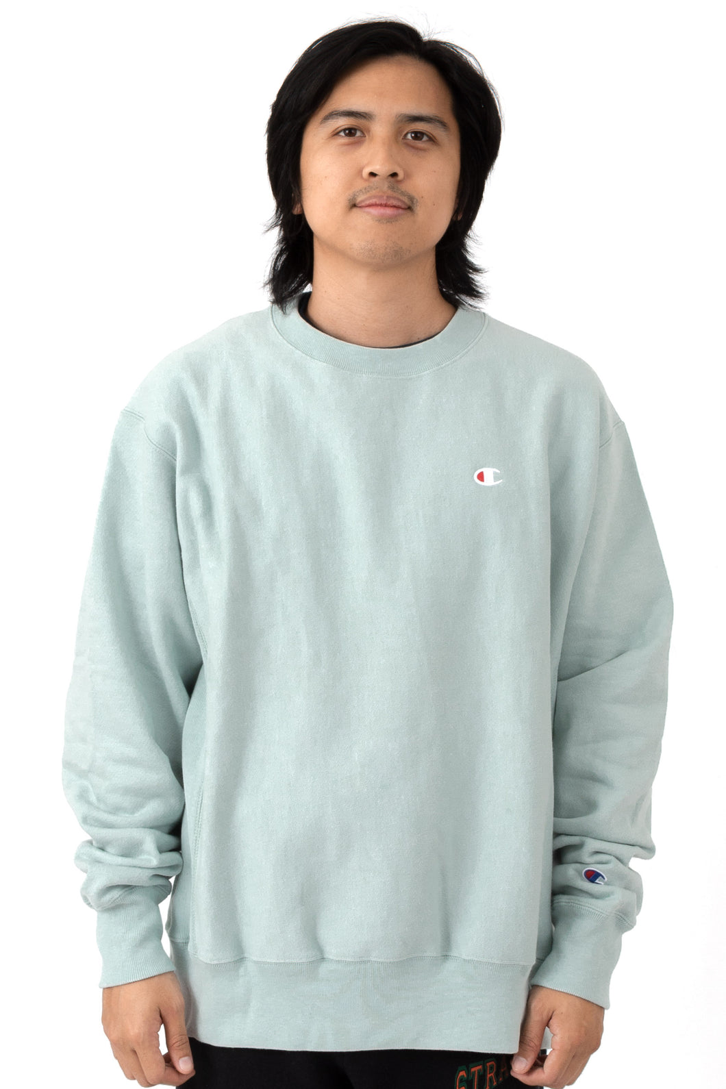 Champion Reverse Weave Crewneck (Fleeting Green)(onhand)(american size)