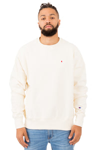 Champion Reverse Weave Crewneck (Alabster Cream)(onhand)(american size)