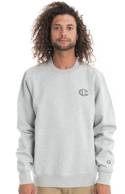 Champion Reverse Weave Super Fleece 2.0 Crewneck (Oxford Grey)(onhand)(american size)