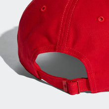 ADIDAS Six-Panel Classic 3-Stripes Cap (Red)