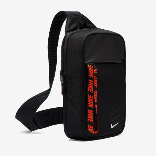 Nike Essentials Large Hip Pack (Black/White/Orange)(BA6144-010)