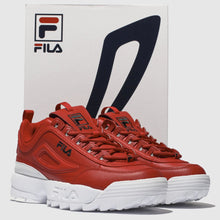 Women's Fila Disruptor II PREMIUM (Red)