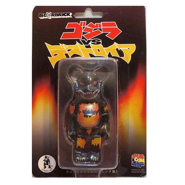 100% BE@RBRICK Burning Godzilla