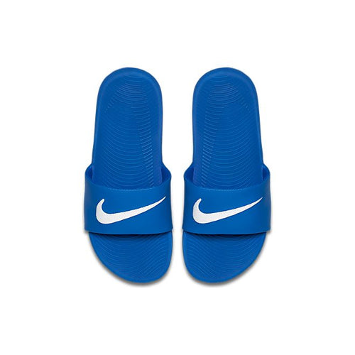 PS/GS Nike Kawa Slide (Hyper Cobalt/White)(819352-400)