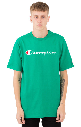 (PRE ORDER) Champion Heritage Script Tee (Kelly Green)(NO CASH ON DELIVERY - ALL ORDERS MUST BE PAID FULL IN ADVANCE)