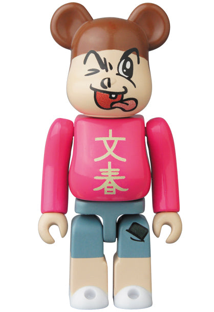 100% BE@RBRICK Bunshun Hero Bearbrick (Series 34)