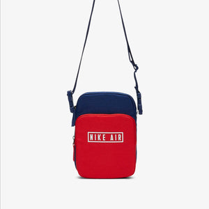 Nike Air Heritage 2.0 Crossbody Sling Bag (Blue Red)