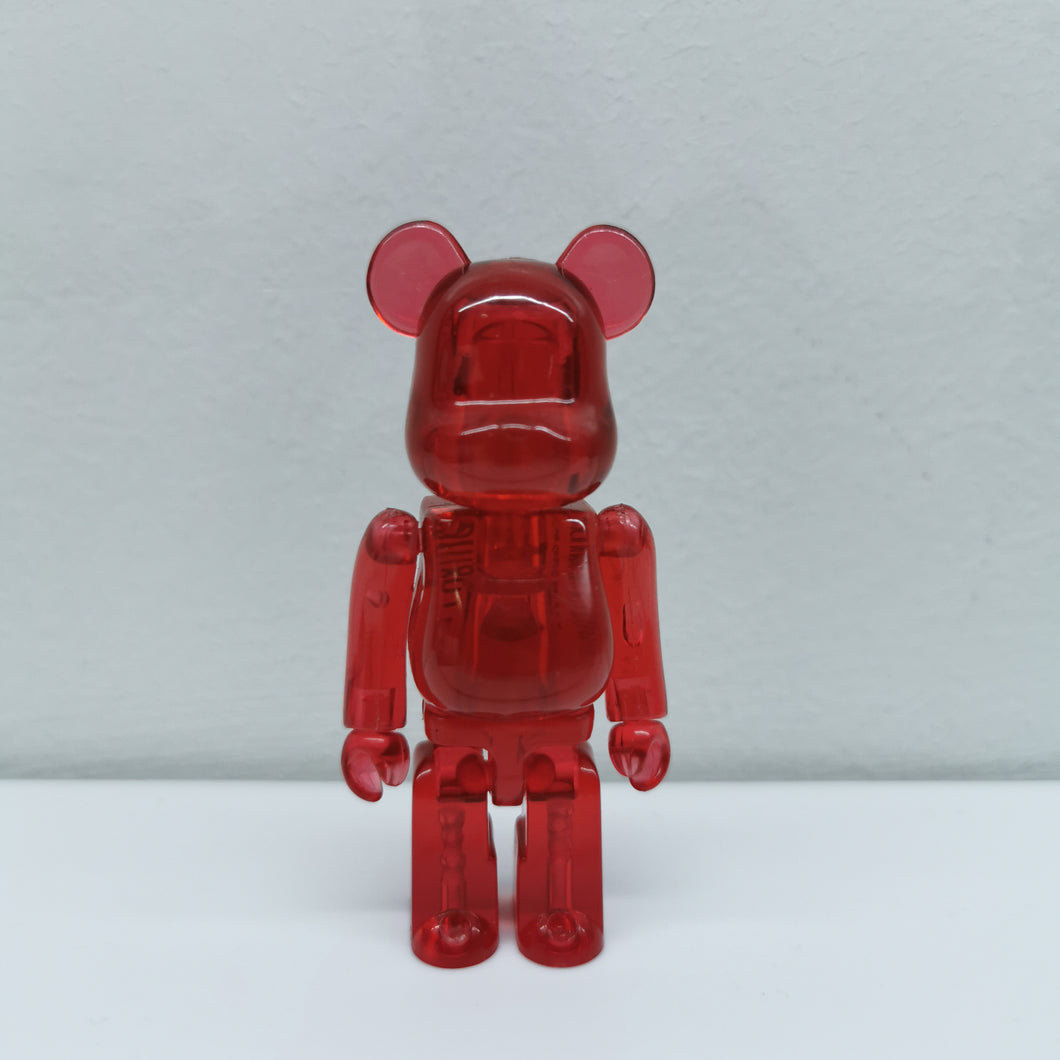Bearbrick Red JELLYBEAN SERIES 18 | 100% | No box | Pre-owned