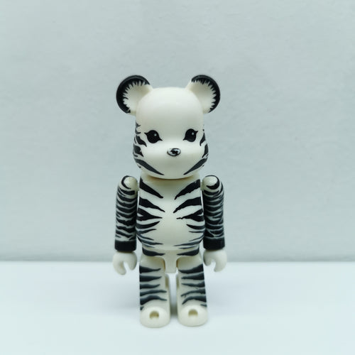 Bearbrick Zebra ANIMAL SERIES 3 | 100% | No box | Pre-owned (2002)
