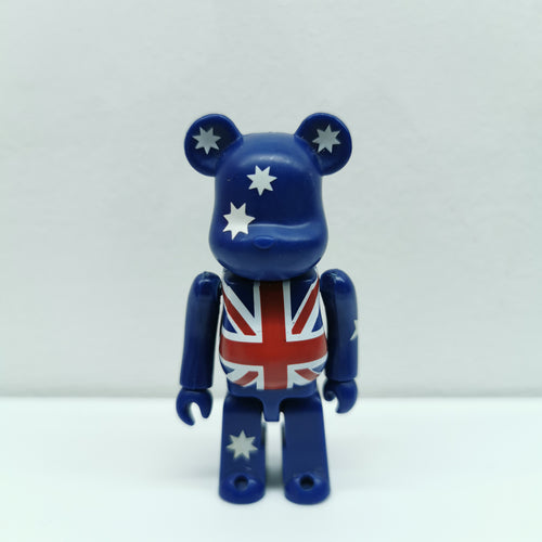 Bearbrick Australia FLAG SERIES 7 | 100% | No box | Pre-owned (2003)