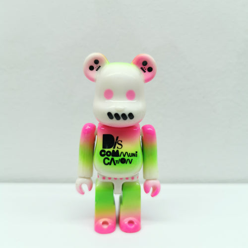 Bearbrick Adapter Discommunication PATTERN SERIES 10 | 100% | No box | Pre-owned (2005)