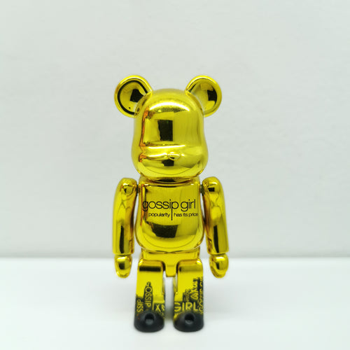 Bearbrick Gossip Girl PATTERN SERIES 24 | 100% | No box | Pre-owned (2012)