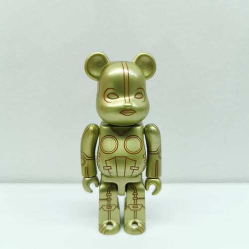 Bearbrick Gold Lady Robot SCIENCE FICTION SERIES 10 | 100% | No box | Pre-owned