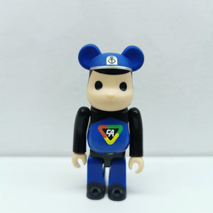 Bearbrick Captain Action HORROR SERIES 20 | 100% | No box | Pre-owned (2010)