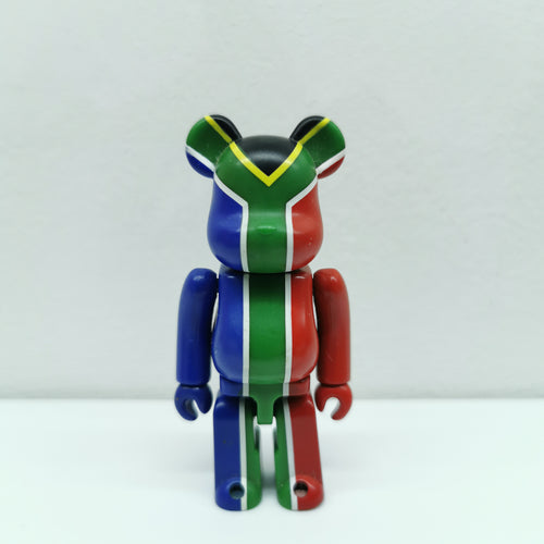 Bearbrick South Africa Flag SERIES 20 | 100% | No box | Pre-owned