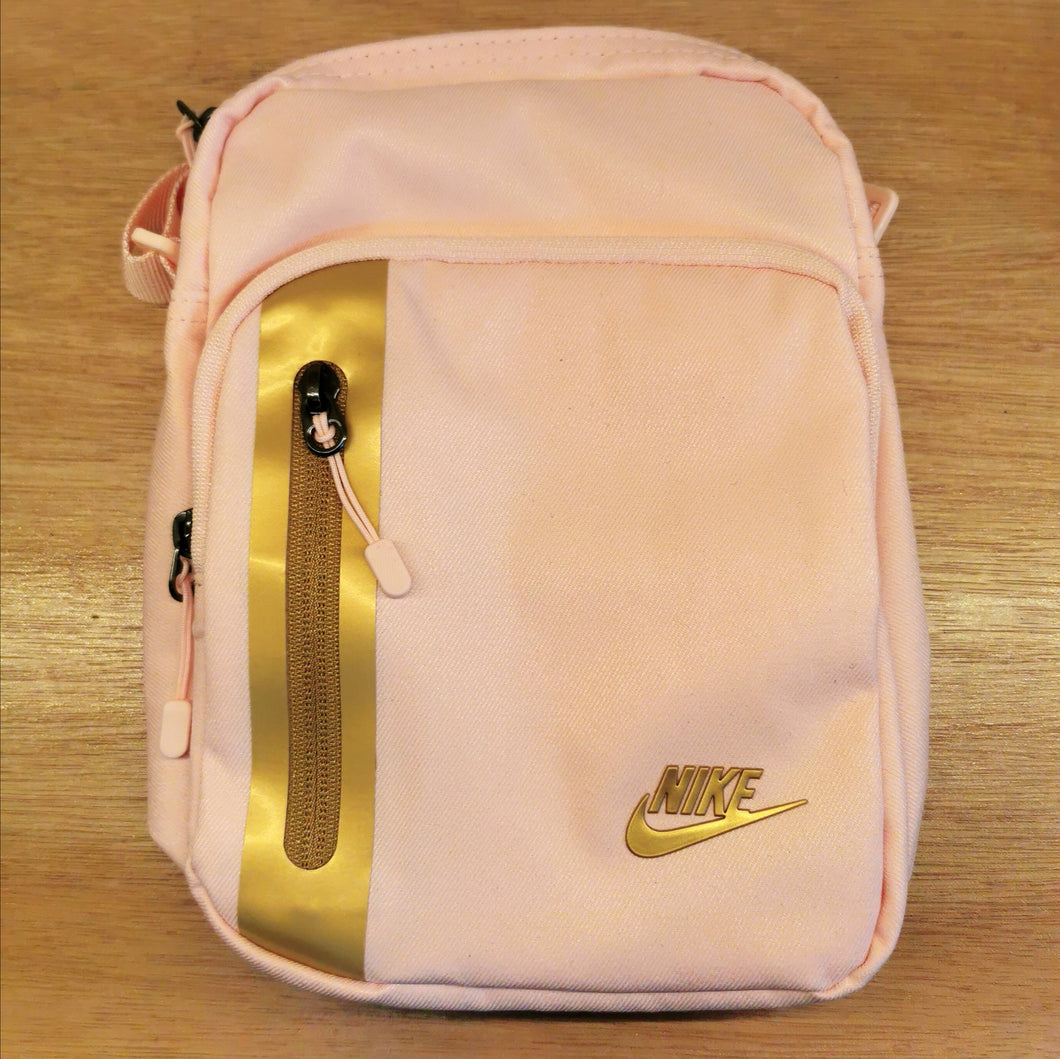 Nike Tech Sling Bag (Echo Pink Metallic Gold)(BA5268-682)