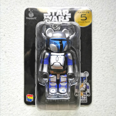BE@RBRICK x Disney Star Wars no. 5 Jango Fett (100%)