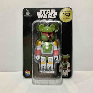 BE@RBRICK x Disney Star Wars no. 19 Boba Fett (100%)