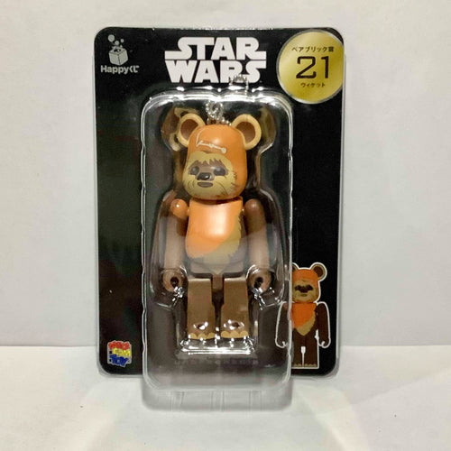 BE@RBRICK x Disney Star Wars no. 21 Ewok (100%)