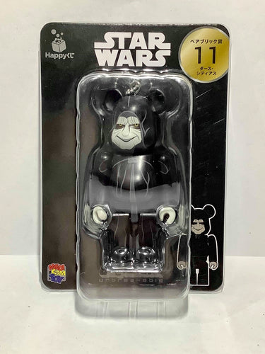 BE@RBRICK x Disney Star Wars no. 11 Darth Sidious (100%)