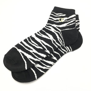 Champion Ankle Socks Camo Gold (Black-White)(1 PAIR)